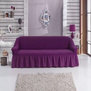 "Чехол на 3-х местный диван ""Фиолетовый"""