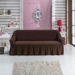 """Чехол на 3-х местный диван """"Шоколад"""""""