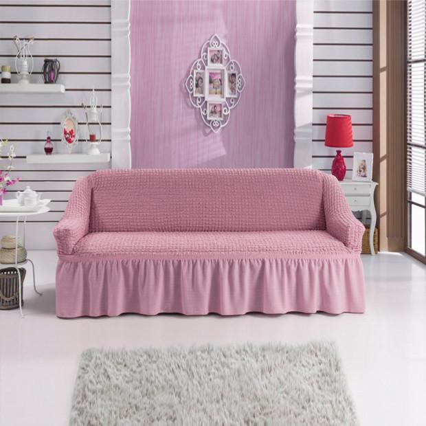 """Чехол на 3-х местный диван """"Розовый"""""""