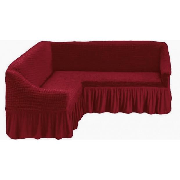 "Чехол на угловой диван ""Бордо"""