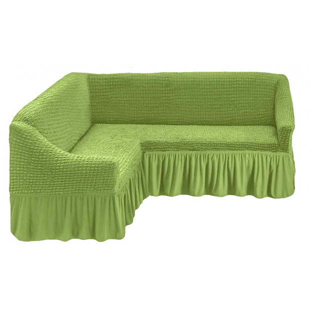 """Чехол на угловой диван """"Зеленый"""""""