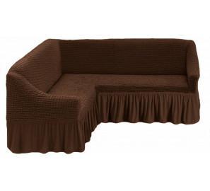 "Чехол на угловой диван ""Шоколад"""