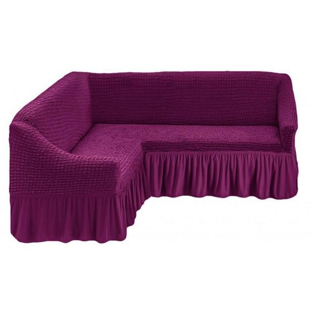 """Чехол на угловой диван """"Фиолетовый"""""""