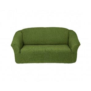 """Чехол на 3-х местный диван без оборки """"Зеленый"""""""