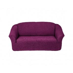 """Чехол для 3-х местного дивана без оборки """"Фиолетовый"""""""