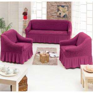 """Чехол на диван и 2 кресла """"Малина"""""""