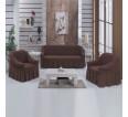 "Чехол на диван и 2 кресла ""Шоколад №201"" - small"