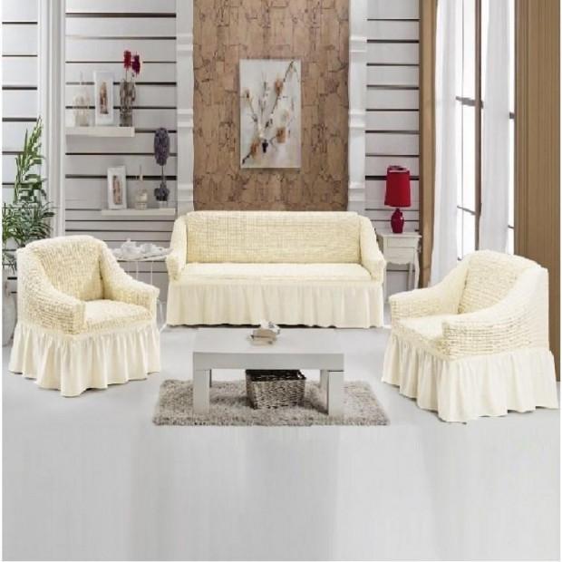 "Чехол на диван и 2 кресла ""Шампань №214"""