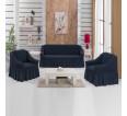 """Чехол на диван и 2 кресла """"Графит №229"""" - small"""