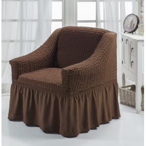 "Чехол на кресло ""Шоколад"""