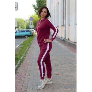 """Женский костюм спортивный """"Лана"""" (вишневый)"""