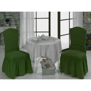 "Чехол на стул ""Зеленый"""