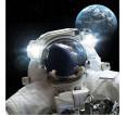 """Фотошторы """"Космонавт"""" 3д (габардин) - small1"""