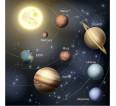"Фотошторы ""Планеты"" 3д (блэкаут) - small1"