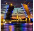 """Фотошторы """"Разводные Мосты"""" 3д (габардин) - small1"""