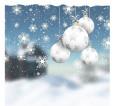 "Фотошторы ""Белые шары"" 3д (блэкаут) - small1"
