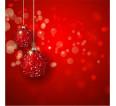 """Фотошторы """"Красные шары"""" 3д (габардин) - small1"""