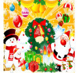 "Фотошторы ""Новогоднее счастье"" 3д (габардин) - small1"