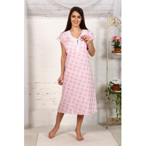"""Одежда для беременных Ночная сорочка из ситца """"М90"""""""