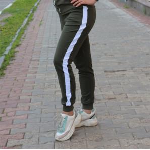 """Брюки женские спортивные """"Лана"""" (хаки)"""