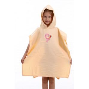 """Вафельное полотенце-пончо """"Кимоно"""""""