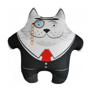 """Игрушка подушка антистресс """"Кот ученый"""""""
