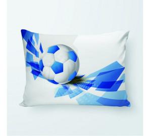 """Фото-подушка """"Футбол 8"""" (блэкаут)"""