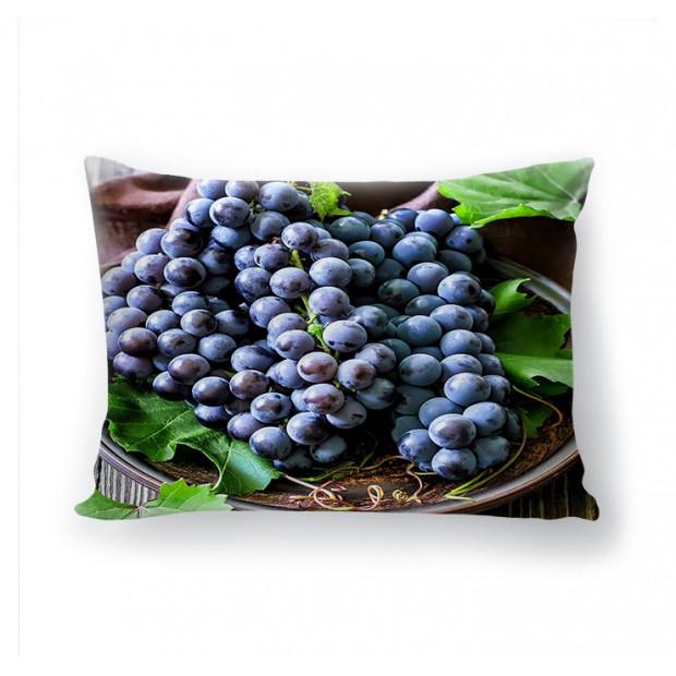 "Фото-подушка ""Вкус винограда"" (блэкаут)"