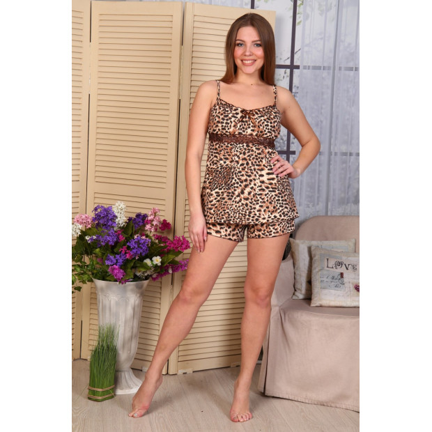 "Пижама женская ""Б16 леопард"""