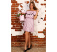 """Платье """"Д463 розовый"""" - small"""