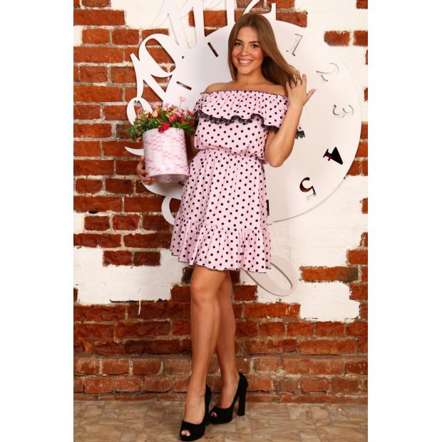 """Платье """"Д463 розовый"""""""