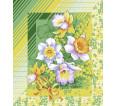 """Вафельное полотенце """"Утренние цветы"""" - small"""