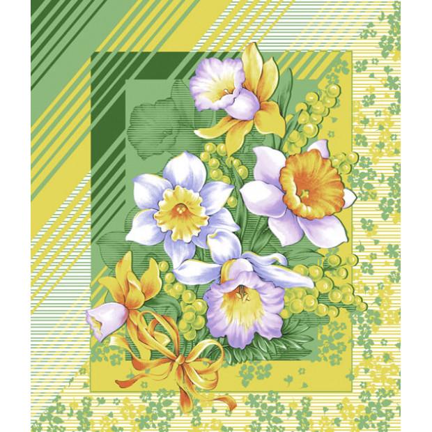 """Вафельное полотенце """"Утренние цветы"""" - Отзывы"""