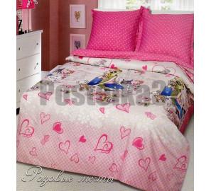 """Детское постельное белье сатин """"Розовые мечты"""""""