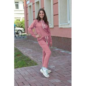 """Женский спортивный костюм с капюшоном """"Бриджит"""" (розовый)"""