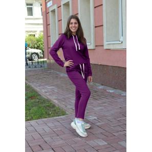 """Женский спортивный костюм с капюшоном """"Бриджит"""" (фиолетовый)"""