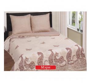 """Ткань поплин """"Мэри"""" для постельного белья (компаньон) 220 см (оптом от 1 рулона)"""