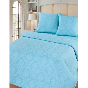 """Ткань поплин """"Аквамарин"""" для постельного белья 220 см (в розницу от 1 метра на отрез)"""