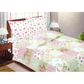 """Ткань поплин """"Апрель"""" для постельного белья (компаньон) 220 см (в розницу от 1 метра на отрез)"""