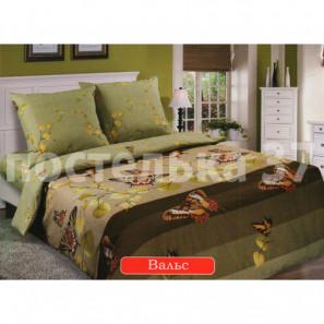 """Ткань поплин """"Вальс"""" для постельного белья (компаньон) 220 см (в розницу от 1 метра на отрез)"""