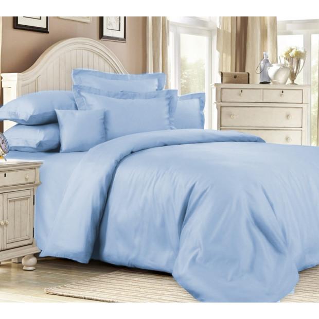 """Элитное постельное белье сатин """"Placid Blue"""""""