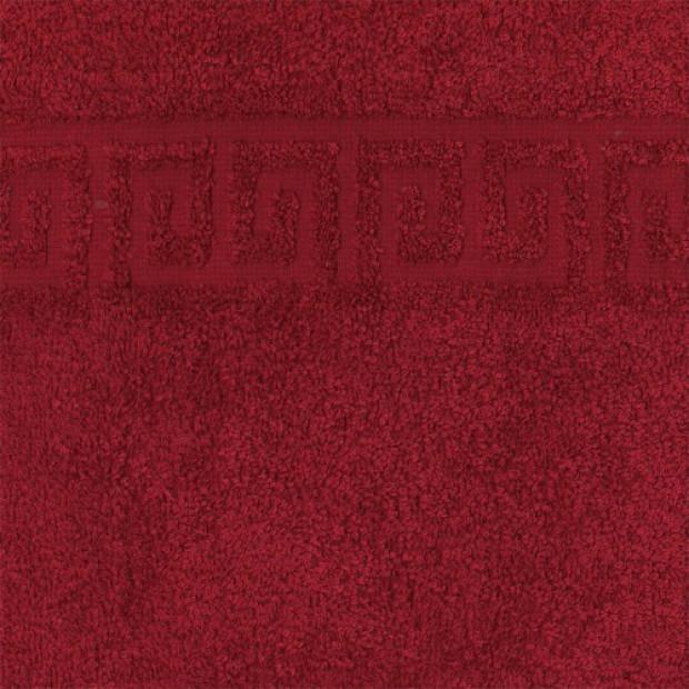 """Полотенце махровое """"бордо"""" 50х90 см"""