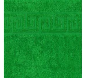 "Полотенце махровое ""зеленый"" 70х140 см"