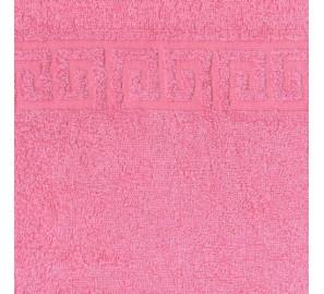 "Полотенце махровое ""розовый"" 50х90 см"