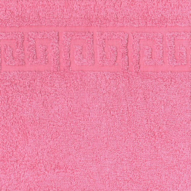 "Полотенце махровое ""розовый"" 70х140 см"