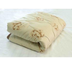 """Одеяло """"верблюжья шерсть"""" 1,5 сп. (тик) легкое"""