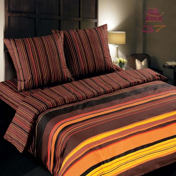 """Ткань поплин """"Шоколад"""" для постельного белья (основа) 220 см (оптом от 1 рулона)"""