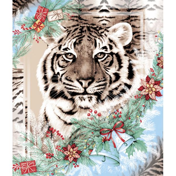 "Вафельное полотенце ""Год тигра"""