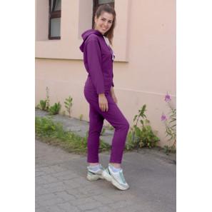 """Женский спортивный костюм с капюшоном """"Пенелопа"""" (фиолетовый)"""