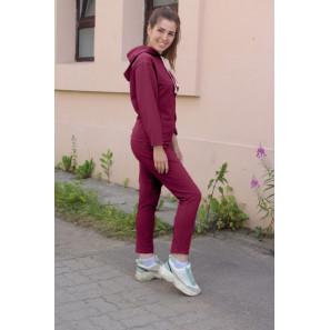 """Женский спортивный костюм """"Пенелопа"""" (вишня)"""